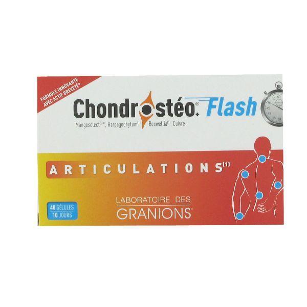 Flash 40 gélules au meilleur prix| Chondrosteo
