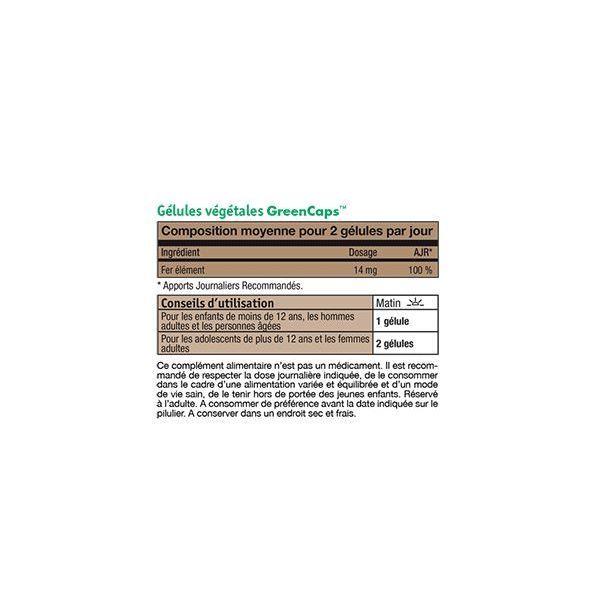 Fer Amino-Chélaté  84 gélules à prix discount| NH-CO
