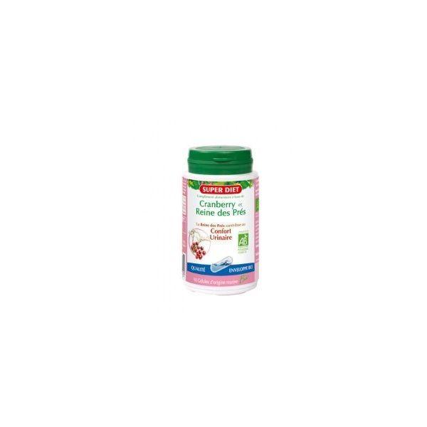 Cranberry et Reine des Prés Bio 90 gélules à prix discount| Super Diet