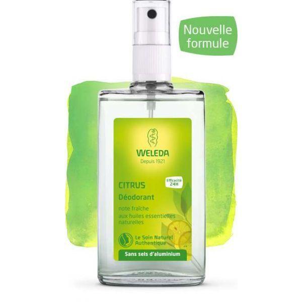 Déodorant au Citrus 100ml à prix bas| Weleda
