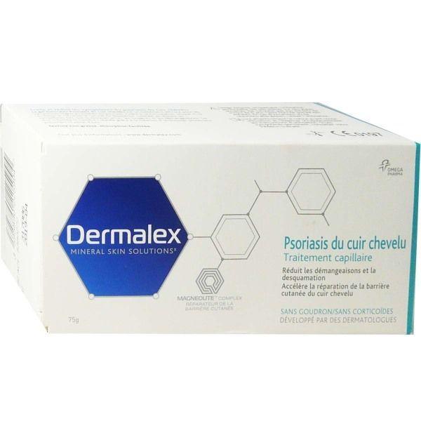Psoriasis Capillaire 75 g au meilleur prix  Dermalex