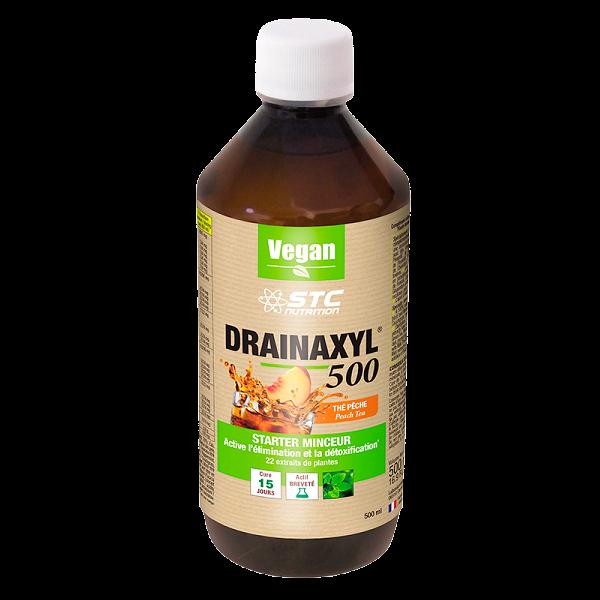 Drainaxyl 500 Thé Pêche Vegan STC Nutrition