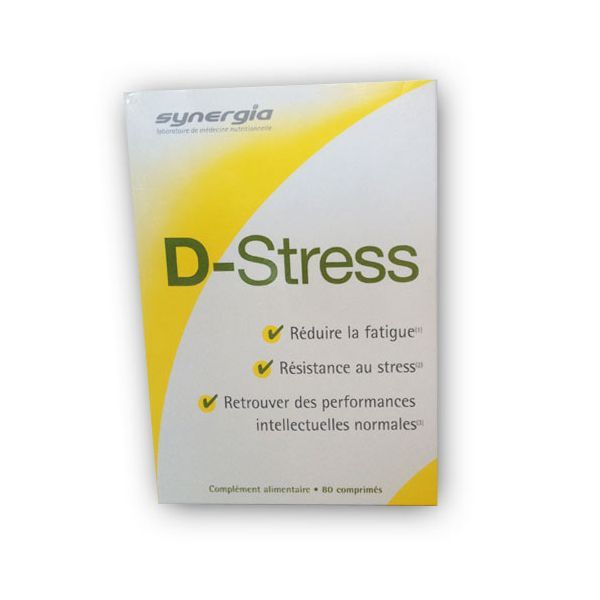 D-Stress 80 comprimés au meilleur prix| Synergia