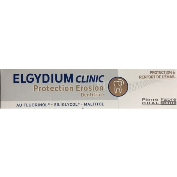 Dentifrice Elgydium Clinic Protection Erosion 75ml