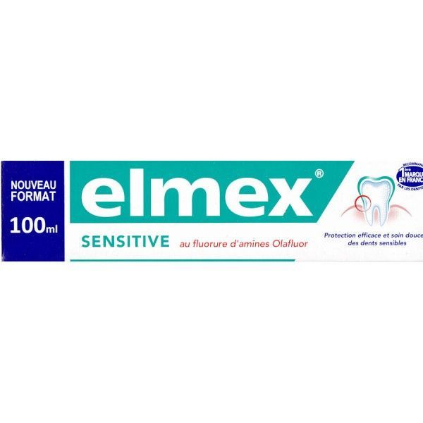 Dentifrice Sensitive 100 ml au meilleur prix| Elmex