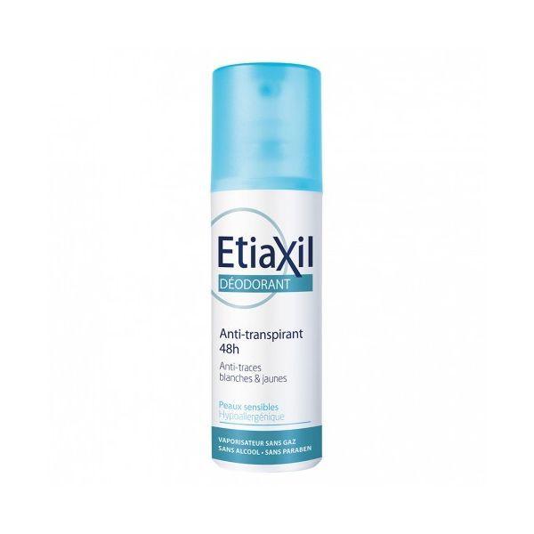 Déodorant Anti-Transpirant Peaux Sensibles Vaporisateur 100ml au meilleur prix| Etiaxil