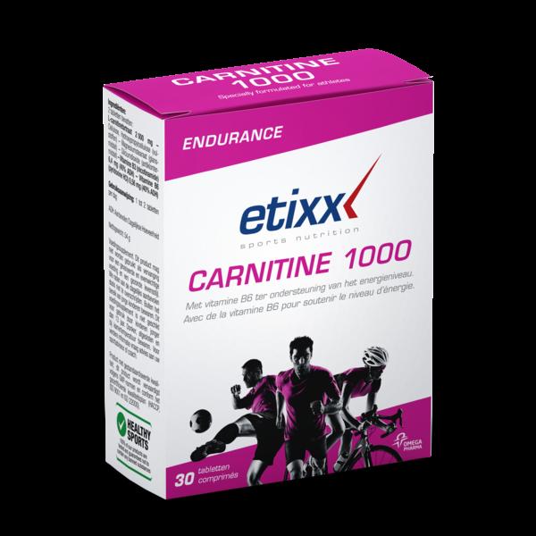 Carnitine 1000 30 comprimés moins cher| Etixx