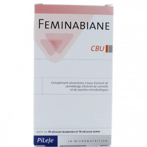 Feminabiane CBU 28 gélules au meilleur prix  Pileje