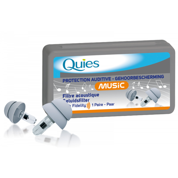 Protection Auditive Music 1 paire au meilleur prix| Quies