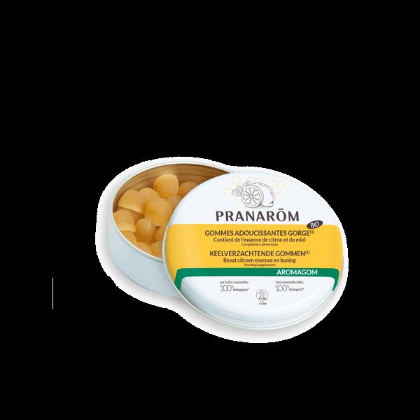 Gommes Adoucissantes citron Miel 45g au meilleur prix| PRANARÔM