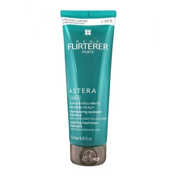 Astera Fresh Shampooing Apaisant 250ml dont 25% offert au meilleur prix| Furterer