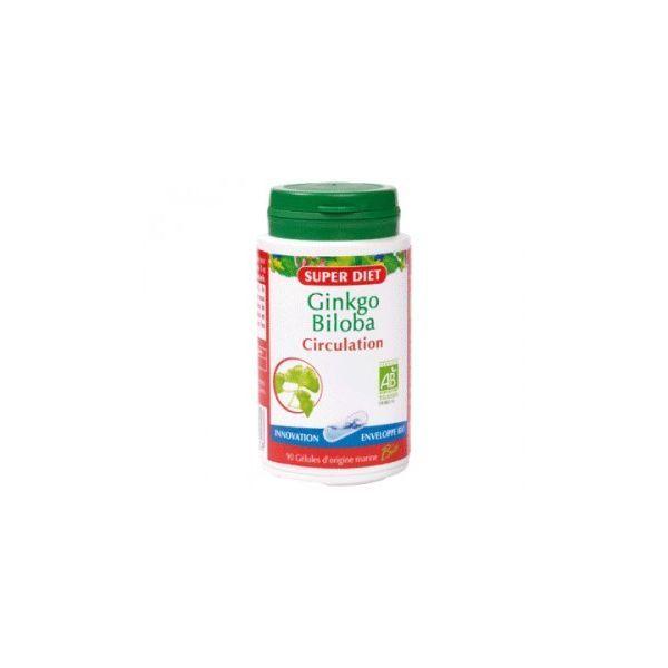 Ginkgo Biloba Bio 90 gélules à prix discount  Super Diet