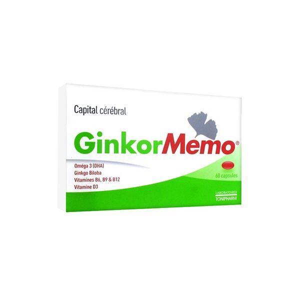 emo Capital cérébral 60 capsules moins cher  Ginkor