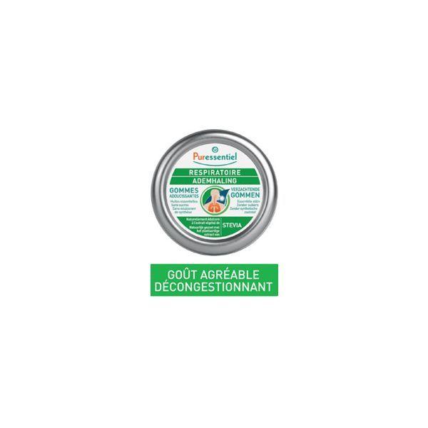 Respiratoire Gommes Adoucissantes 45g  au meilleur prix| Puressentiel