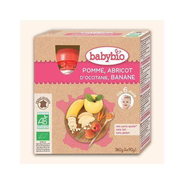 Achetez au meilleur prix les Gourdes aux fruits bio de babybio