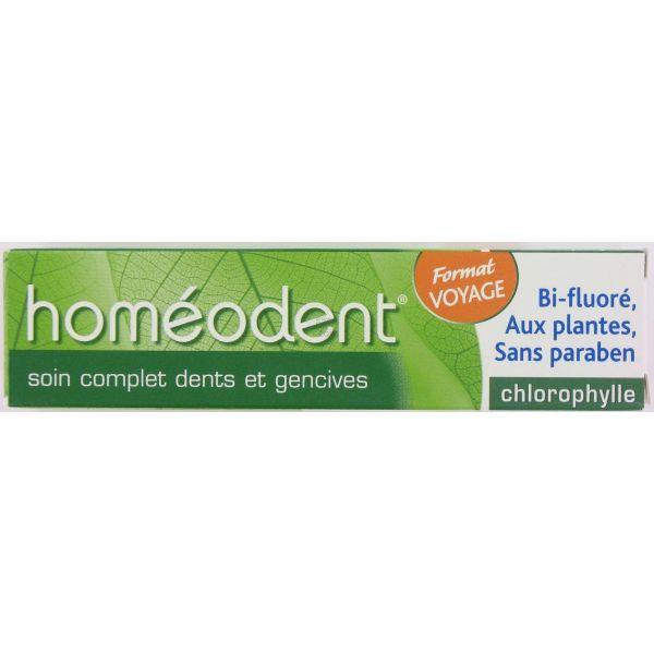 Homéodent Dentifrice Soin Complet Dents et Gencives Chlorophylle 25ml