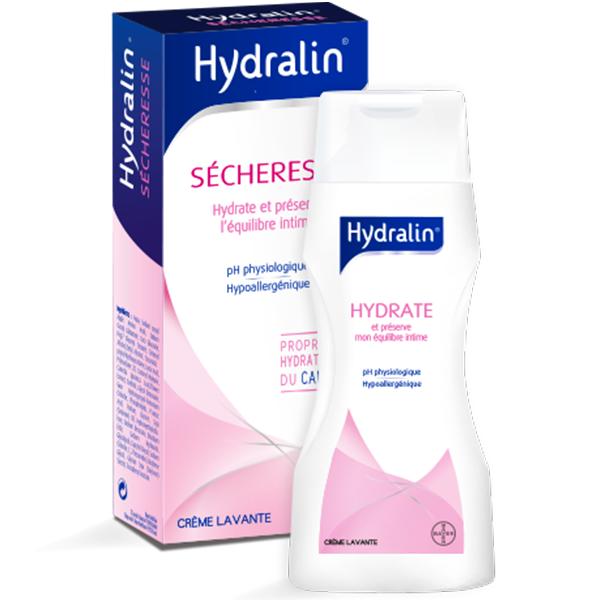 Sècheresse Crème lavante intime 200ml au meilleur prix| Hydralin