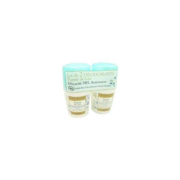 Déodorant Pureté de Lin 2X50ml au meilleur prix| Sanoflore