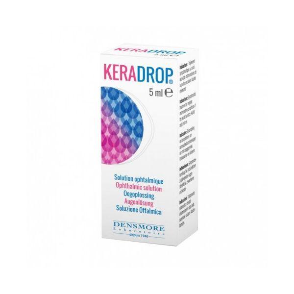 Keradrop Solution Ophtalmique 5 ml. à prix bas| Densmore