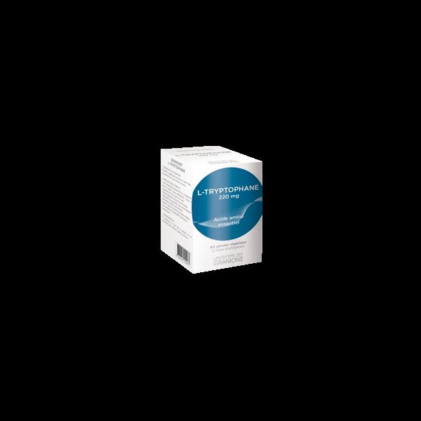 L-Tryptophane 60 gélules à prix discount| Laboratoire des Granions