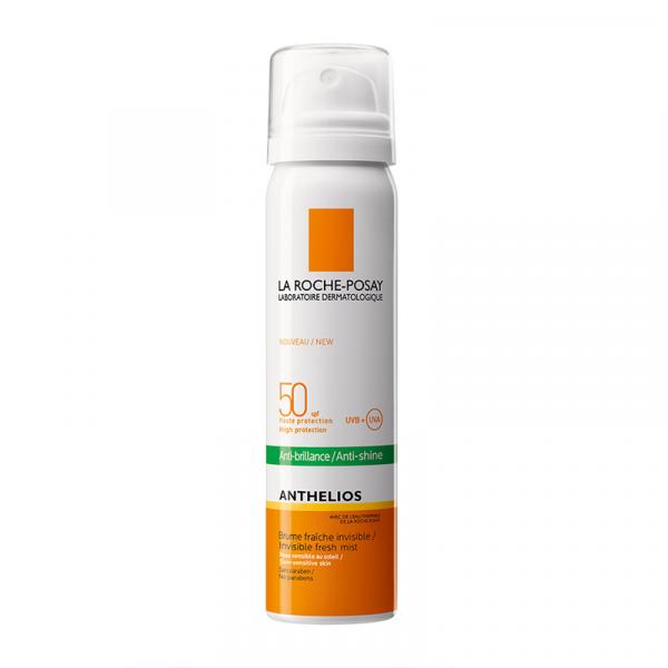 Anthelios 50 SPF Anti-brillance Brume Fraîche 75 ml moins cher  La Roche Posay
