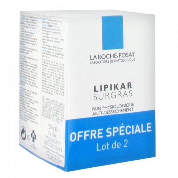Lipikar Pain Surgras 2X150gr à prix bas| La Roche Posay