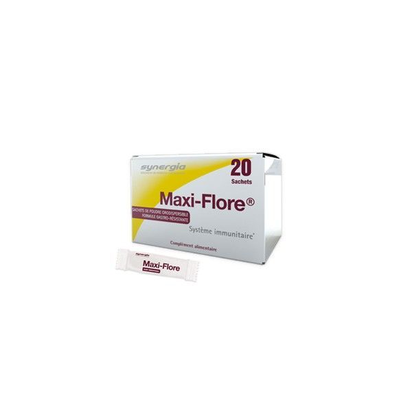 Maxi-Flore 20 sachets au meilleur prix  Synergia