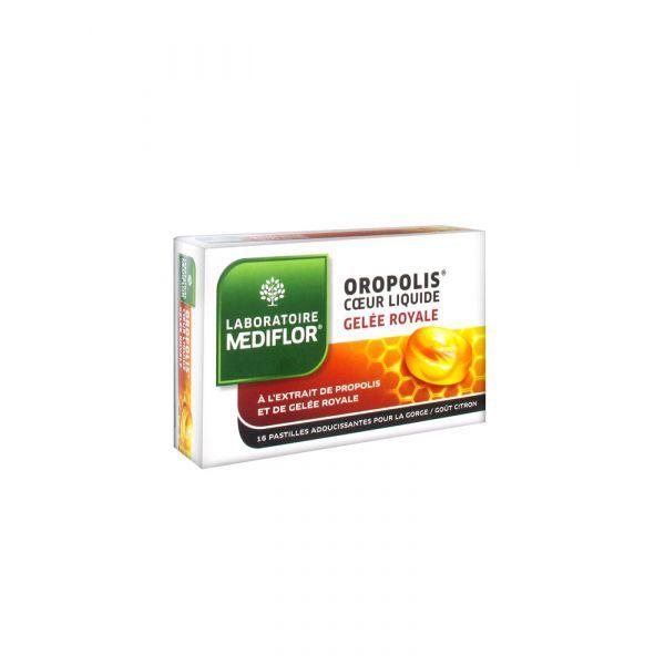 Oropolis Coeur Liquide Gelée royale 16 pastilles moins cher| Médiflor
