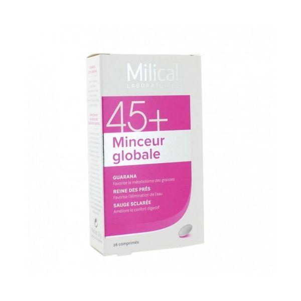 MILICAL 45+ MINCEUR GLOBALE 14J 28 COMPRIMES