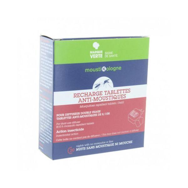 Recharge Tablettes Anti-Moustiques  moins cher| Moustikologne