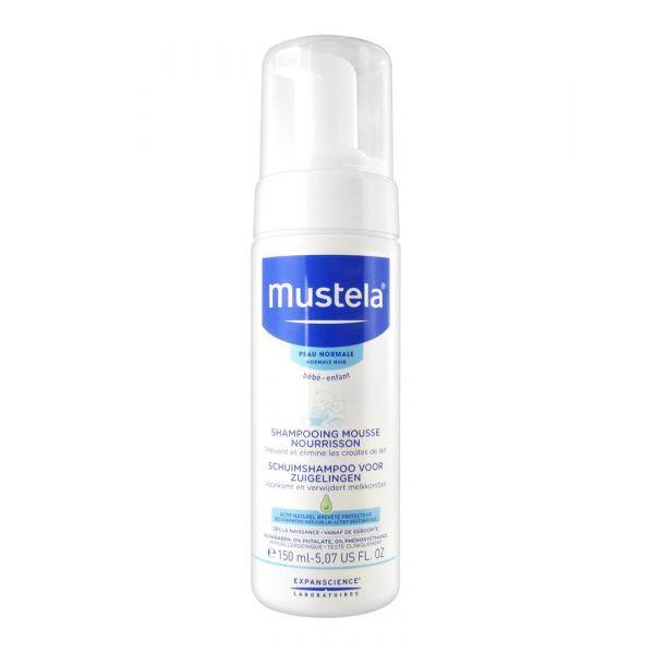 Bébé Shampooing Mousse Nourrisson 150ml moins cher| Mustela