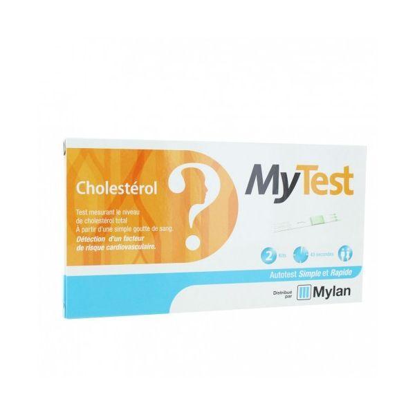 My Test Cholestérol 2 kits à prix bas| Mylan