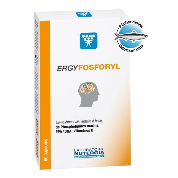 Achetez ERGY FOSFORYL 60 CAPSULES moins cher