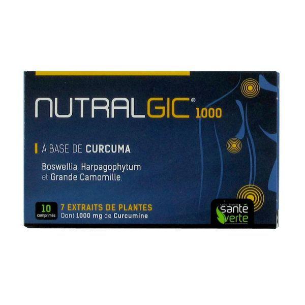 Nutralgic 10 comprimés au meilleur prix| Santé Verte