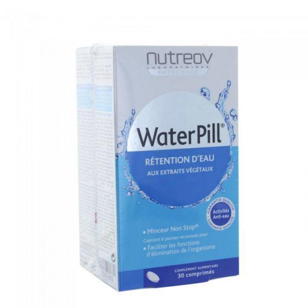 Waterpill Rétention d'Eau 2X30 comprimés au meilleur prix| Nutreov