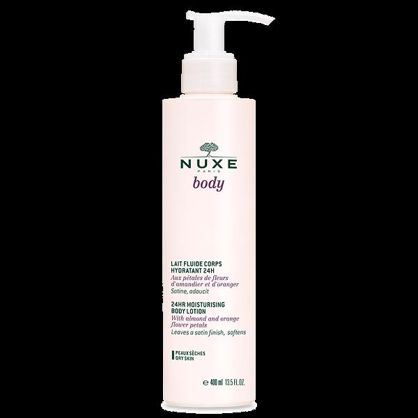 Nuxebody Lait fluide corps hydratant 24H  400ml à prix bas| Nuxe