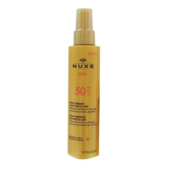 Spray solaire 50 moins cher| Nuxe