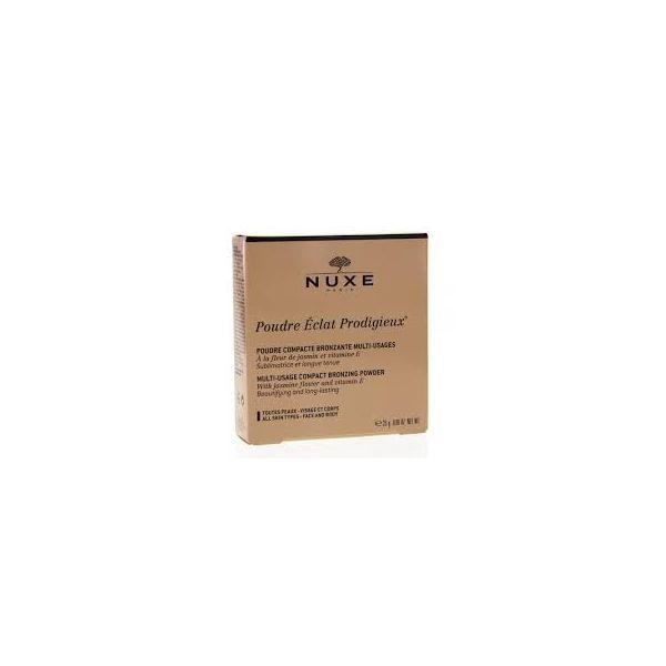 Poudre compacte éclat prodigieux bronzante multi-usages  25g moins cher| Nuxe