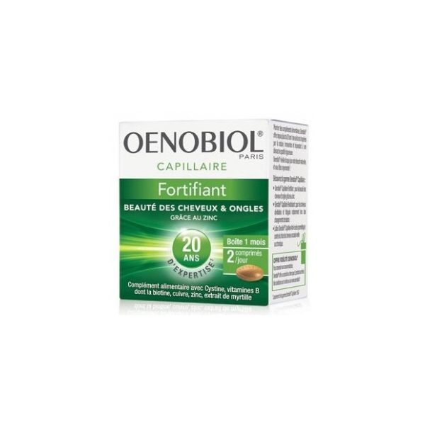 Oenobiol Capillaire Fortifiant 60 Capsules A Prix Discount
