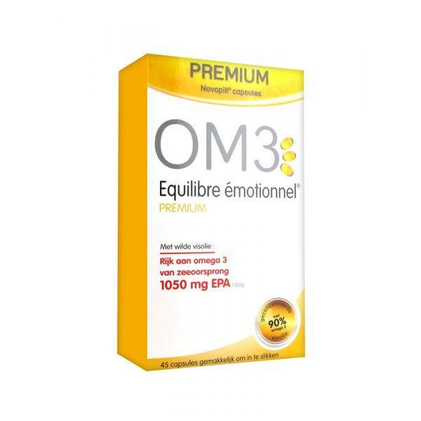 équilibre émotionnel prémium 45 capsules  moins cher| OM3