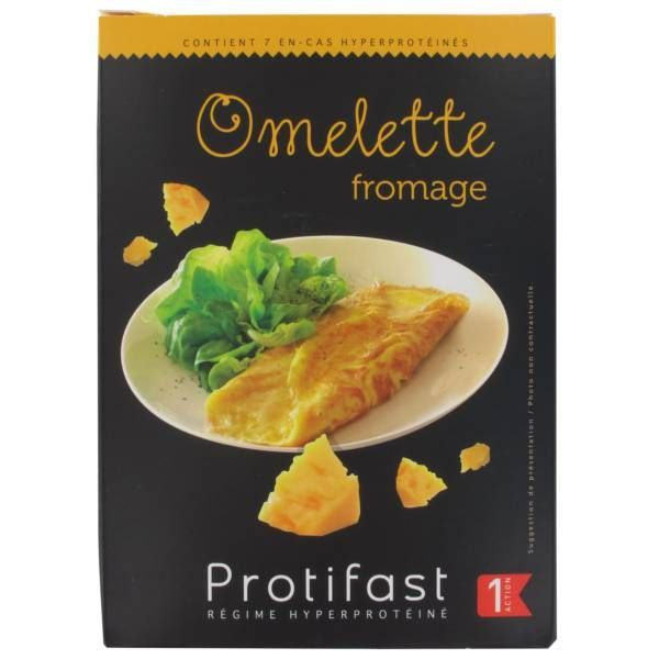 Omelette Fromage à prix bas| Protifast