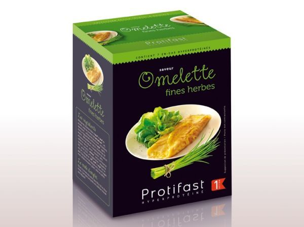 Omelette Fines herbes moins cher  Protifast