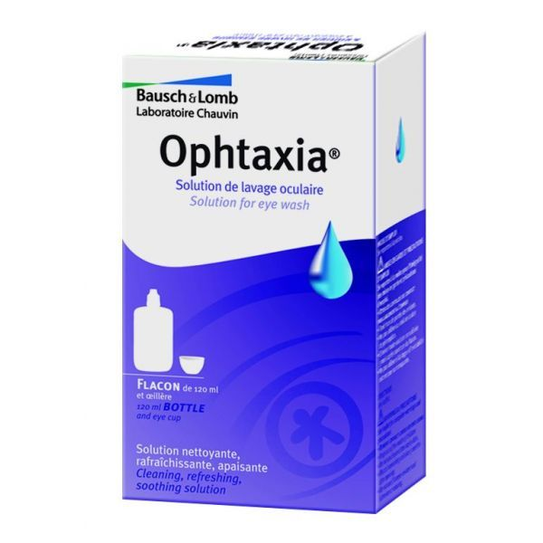 omb Ophtaxia Flacon 120ml moins cher| Bausch&Lomb
