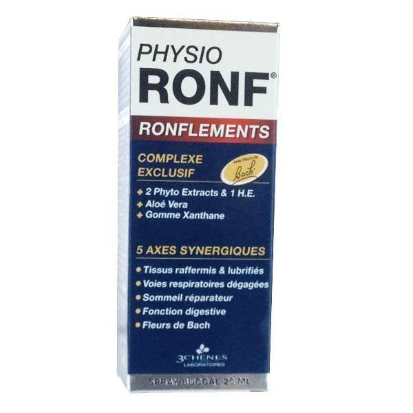 Physio Ronf Spray Buccal 20 ml  moins cher| Les 3 Chênes