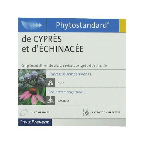 Phytostandard de cyprès et d'échinacée PhytoPrevent 30 comprimés