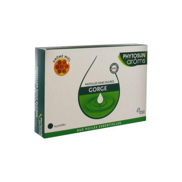 Aroms Gorges Pastilles Sans Sucre Miel X24 moins cher| Phytosun