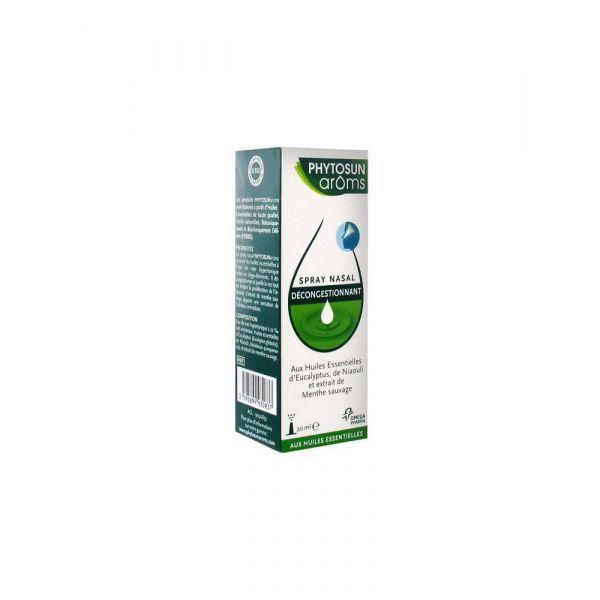 Aroms Spray Nasal Décongestionnant 20ml moins cher| Phytosun
