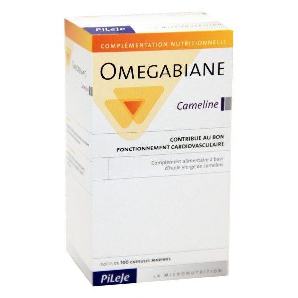 Achetez au meilleur prix Omegabiane Cameline 100 capsules