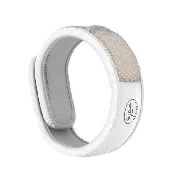 Bracelet Anti-moustique Naturel Blanc au meilleur prix| Para'kito