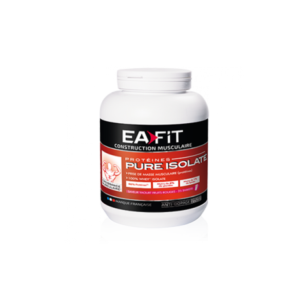 Pure Isolate Fruits Rouges 750gr moins cher| Eafit